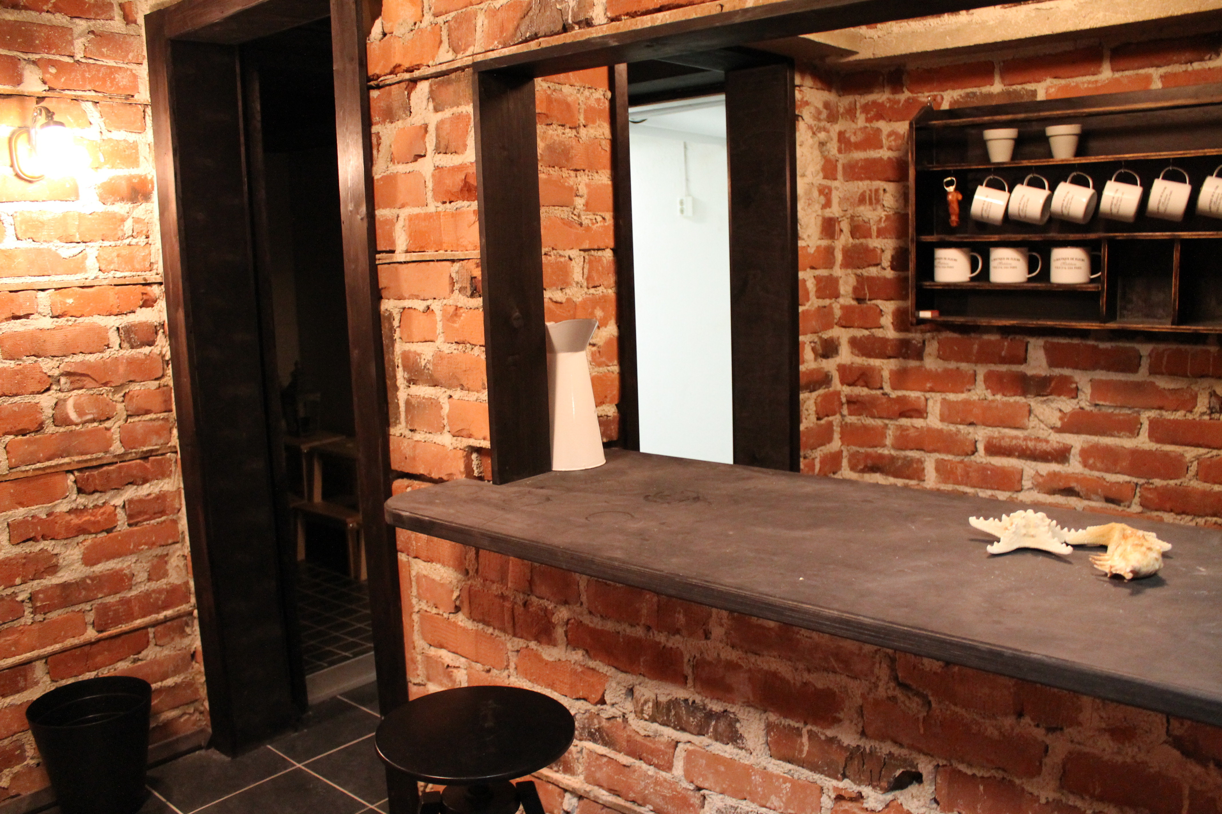 Pöllönkellarin sauna