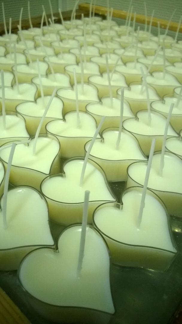 Soija-kynttilät